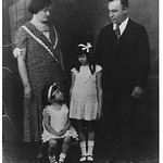 My grandmother, Leah Kaplan on far left; my mom, Charlotte Kaplan-Kant; Ann Kaplan-Murkoff; my grandfather, Nathan Kaplan c. 1934