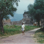 Larry in Rome, 1987